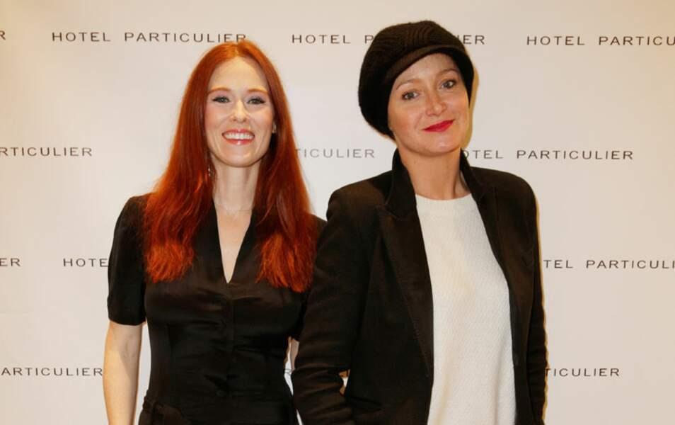 Audrey Fleurot et Julie Ferrier