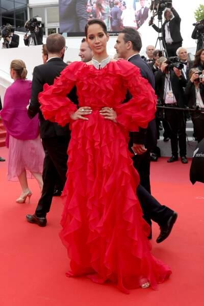 Lana El Saheli au Festival de Cannes 2019