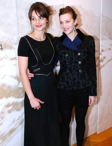 Pauline Parigot et Céline Salette