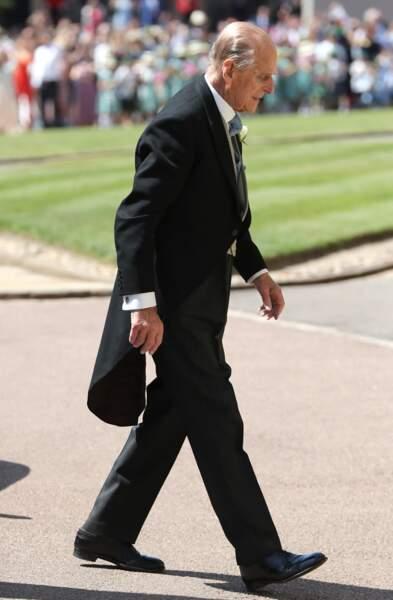 Royal wedding : l'arrivée du prince Philip