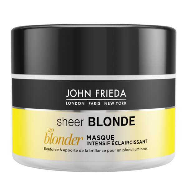 Go blonder Masque Intensif Eclaircissant, 8,90 €, John Frieda.