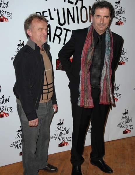 Dominique Pinon et François Morel
