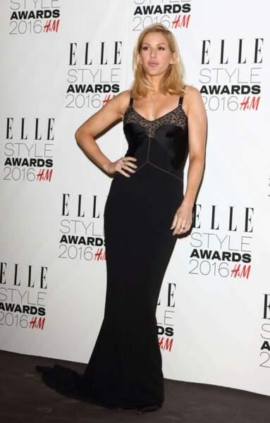 Victoria's Secret : la chanteuse  Ellie Goulding a, elle, les lèvres les plus séduisantes de l'année