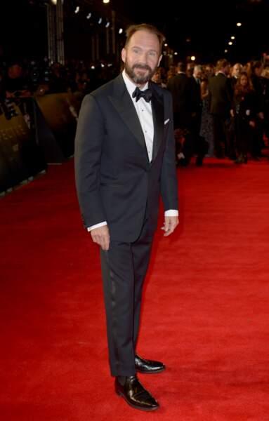 Ralph Fiennes à l'avant-première de Spectre