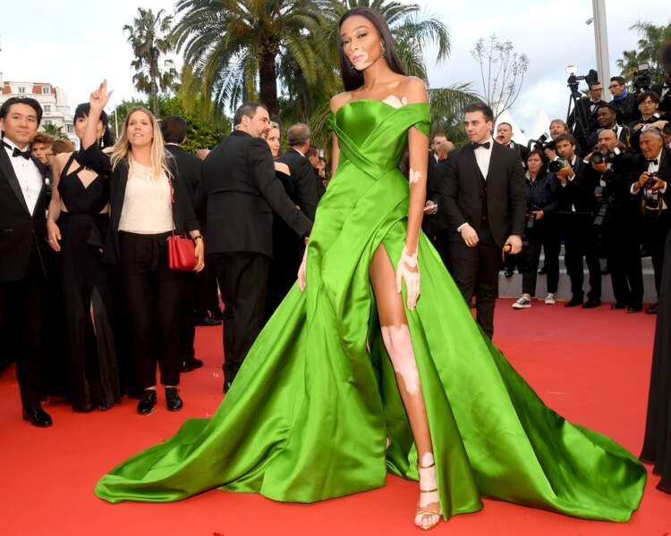 Cannes 2018 - Kristen Stewart envoie valser la bienséance - Winnie Harlow