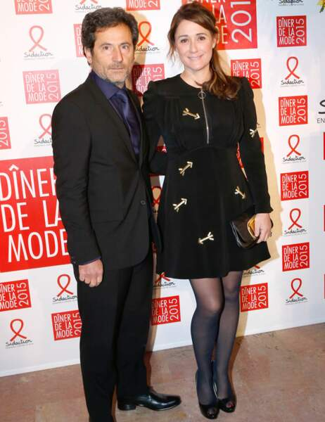 Daniela Lumbroso et son mari Eric Ghebali