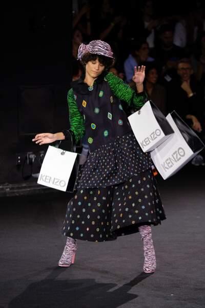 Défilé Kenzo x H&M à New York