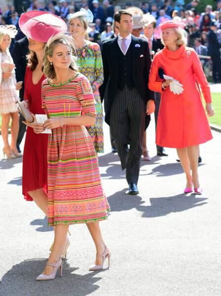 Cressida Bonas, l'ex du prince Harry était présente