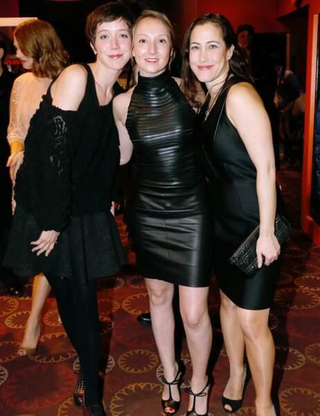 Sara Giraudeau, Audrey Lamy et Myriam Charleins