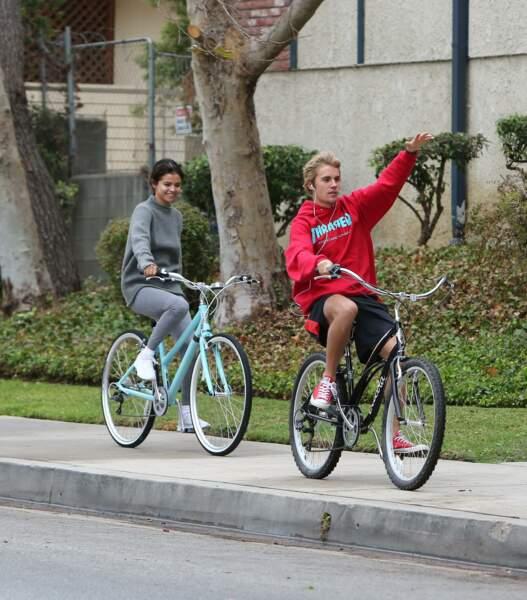 Justin Bieber et Selena Gomez