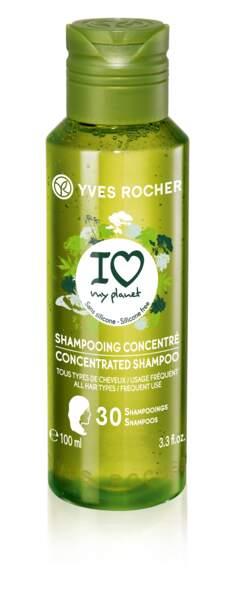 Shampooing concentré. Yves Rocher, 2,95 €