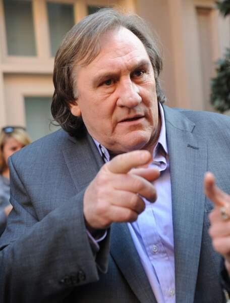 Mais plus coloré chez Gérard Depardieu