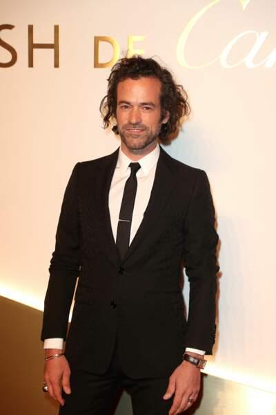 Romain Duris au dîner Cartier, le 10 avril 2019 à la Conciergerie de Paris