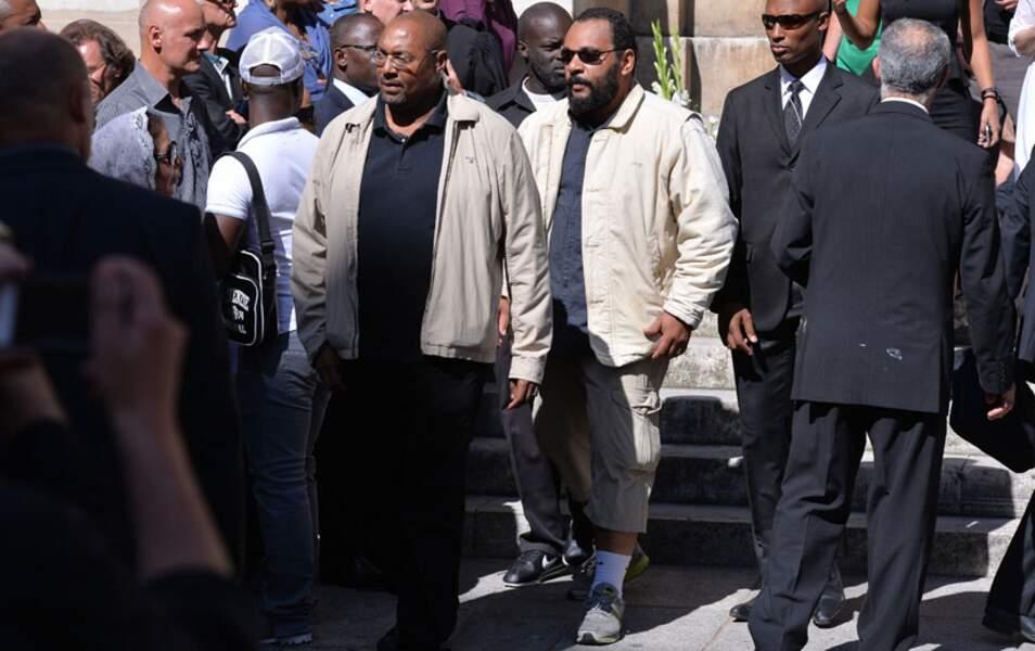 Dieudonné est venu en bermuda aux obsèques de Jacques Vergès