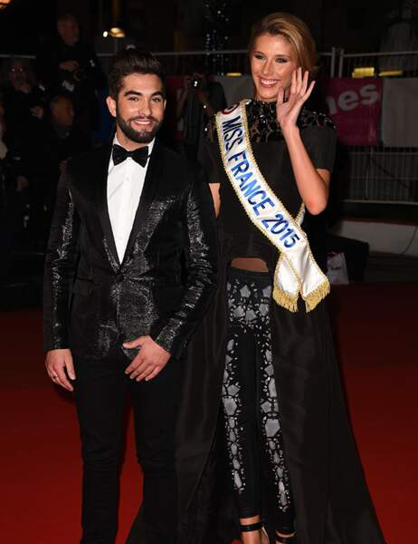 Kendji et Camille Cerf, Miss France 2015
