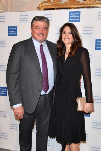 David Douillet et Vanessa Carrara aux Stéthos d'Or