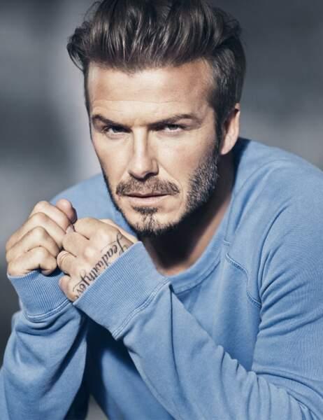 David Beckham les yeux dans les yeux...