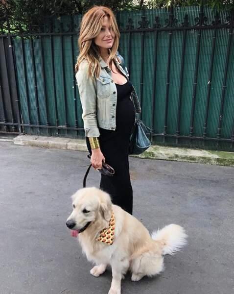 Caroline Receveur maman : retour sur ses plus beaux looks de grossesse