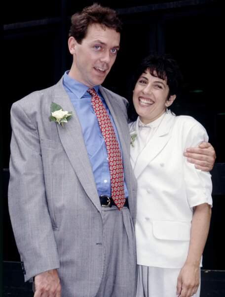 Hugh Laurie et Joe Green (en 1989)