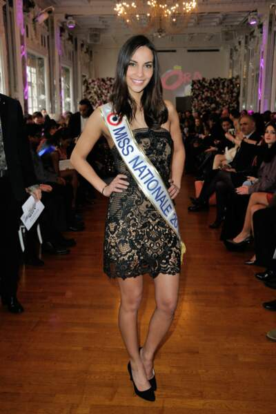 Eugénie Journée (Miss Nationale) faisait partie des invités de Meghanora.