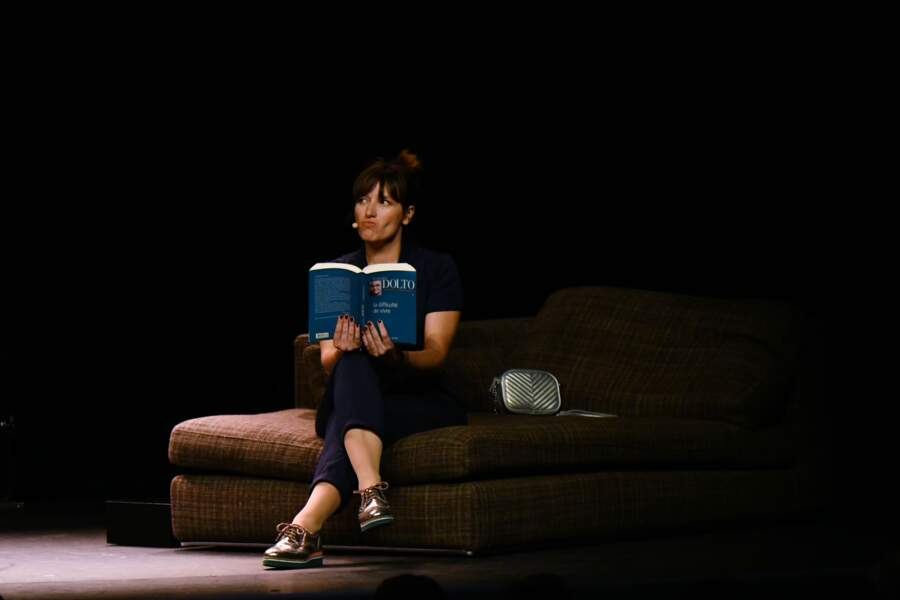 Julie Bargeton au 35ème festival Mont-Blanc Humour