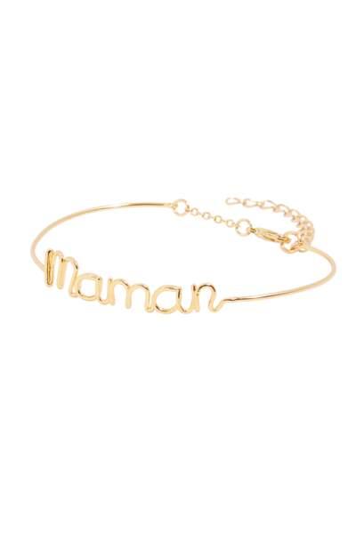 Bracelet Maman. En laiton doré à l'or fin, 19 €, CollectionIRL by Showroomprive