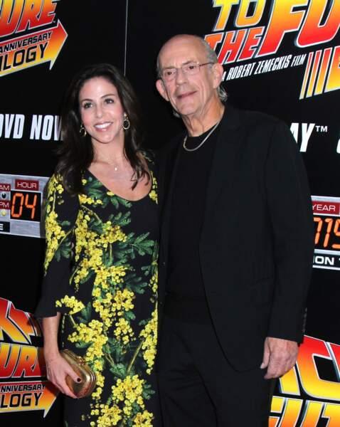 Christopher Lloyd et son amie Lisa Loiacono