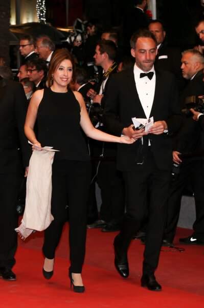 Raphaël Glucksmann and Léa Salamé