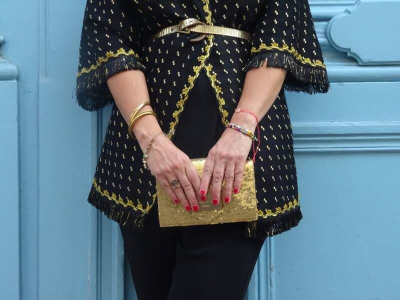 Porter le kimono : pour un apéro chic