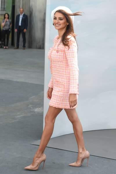 Défilé Chanel : Penelope Cruz