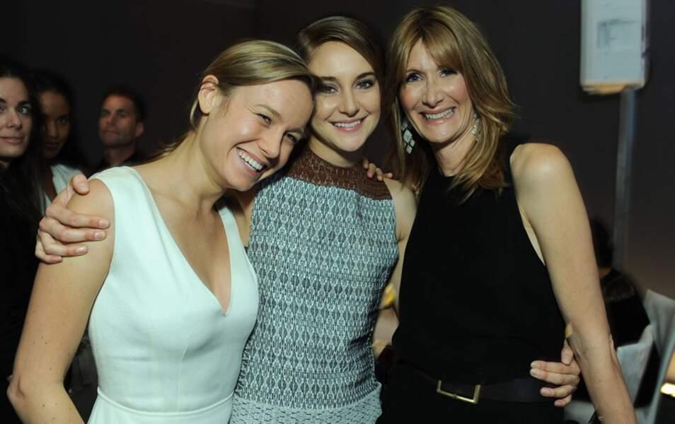 Brie Larson, Shailene Woodley et Laura Dern