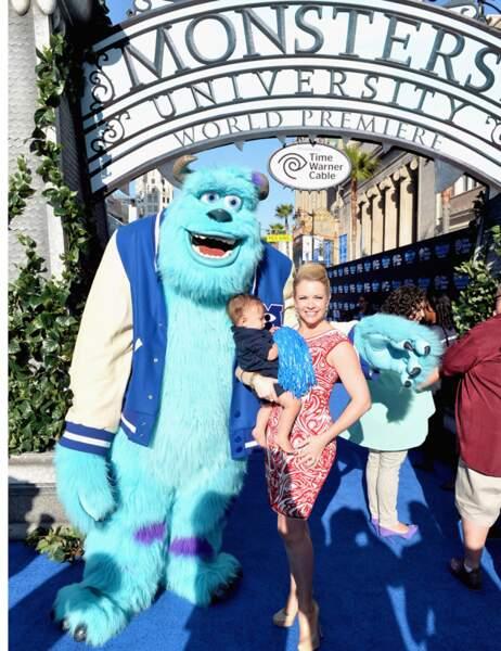 Sulli, Melissa Joan Hart et son fils Tucker