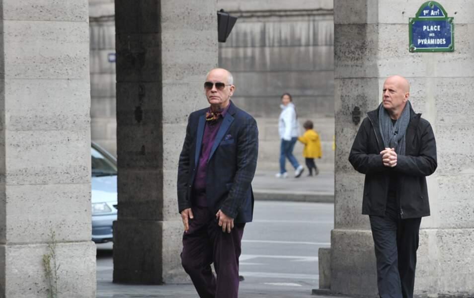 John Malkovitch et Bruce Willis