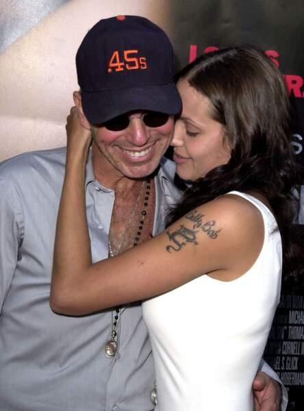 Angelina Jolie en 2011, très amoureuse de son mari de l'époque Billy Bob Thornton