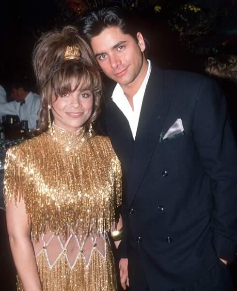 Octobre 1989: John Stamos et Paula Abdul restent ensemble pendant deux petites semaines
