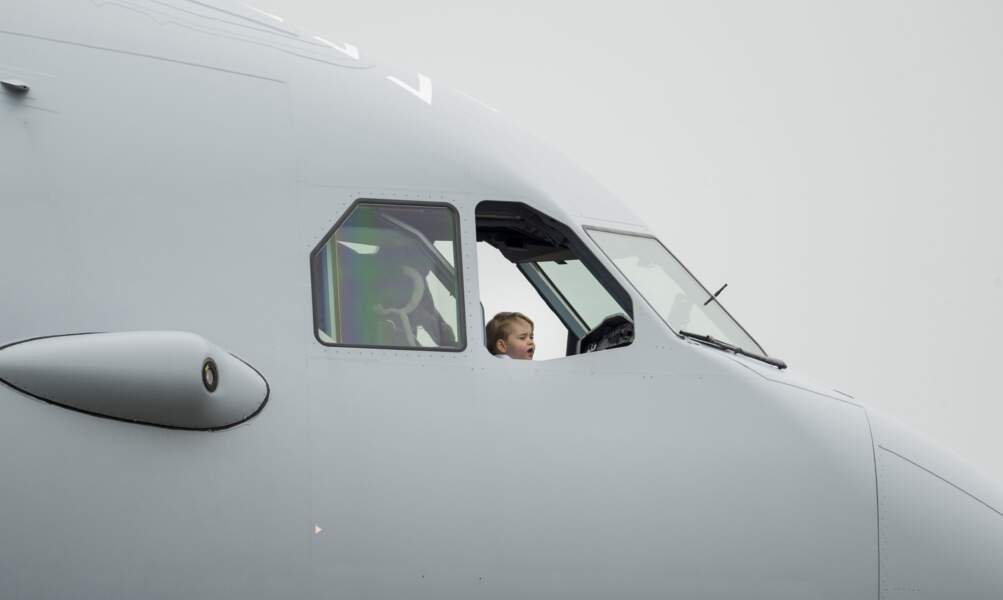 Comme papa, c'est déjà un pilote