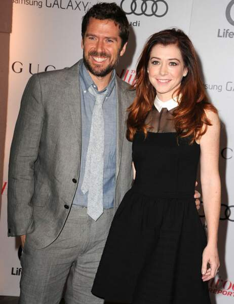 Alyson Hannigan et son époux Alexis Denisof
