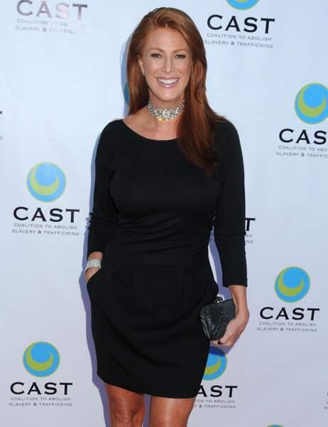 Angie Everhart à 45 ans