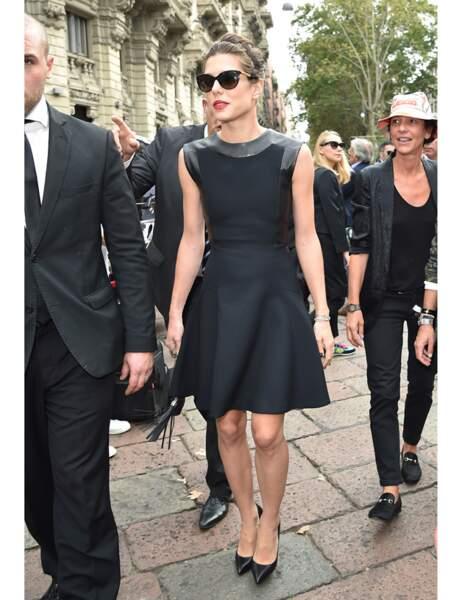 Encore un exemple que la petite robe noire a tout bon !