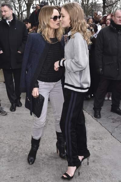 Vanessa Paradis et sa fille Lily-Rose Depp, très complices