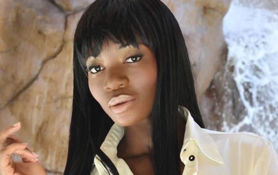 Miss Namibie Paulina Malulu, 24 ans, 1m75