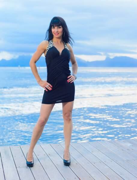 Marjorie participante de L'Île des vérités en 2014