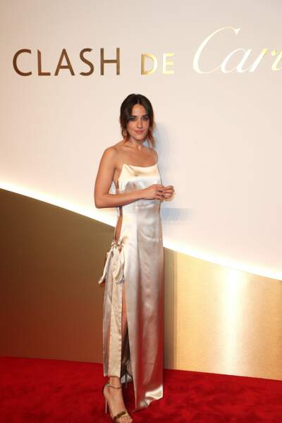Macarena Garcia au dîner Cartier, le 10 avril 2019 à la Conciergerie de Paris