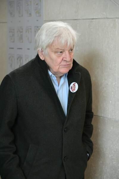 Jacques Perrin à l'hommage à Agnès Varda