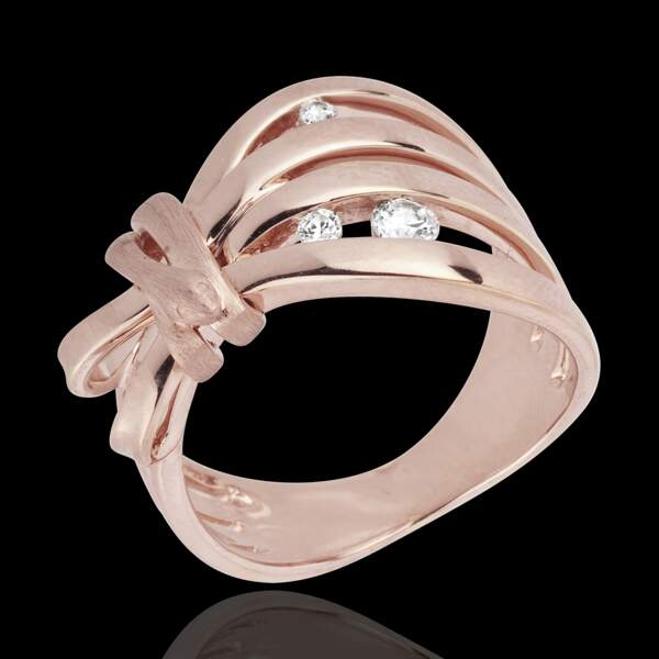 Bague plaquée or rose Kenzo - 85 €