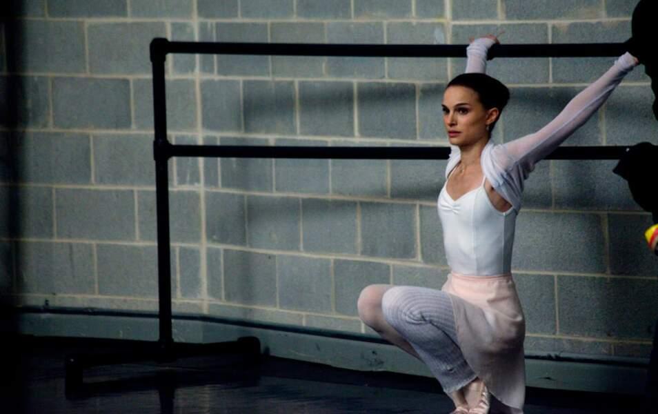 Natalie Portman, une ballerine sous-alimentée dans Black Swan