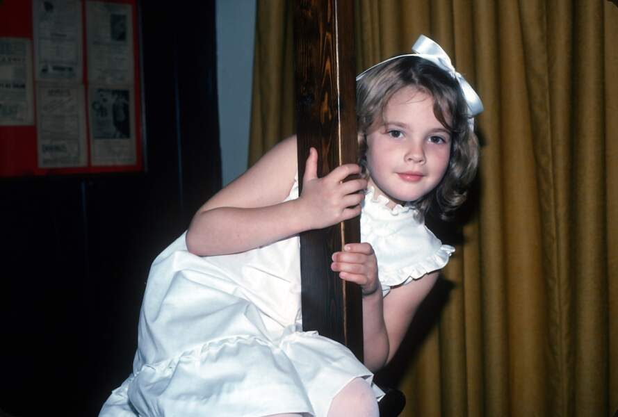 L'autre star du film ET, Drew Barrymore