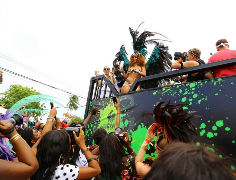 Evidemment, Rihanna était LA star de la parade