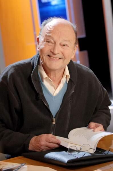 A 91 ans, l'écrivain Michel Tournier a été fait commandeur