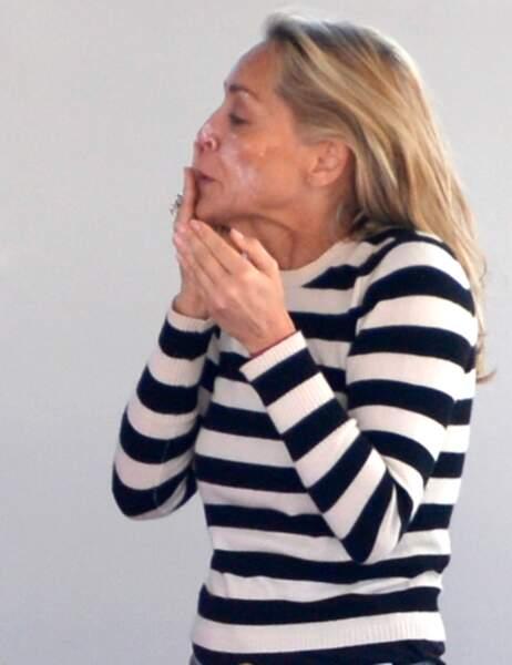 Sharon Stone... au naturel...